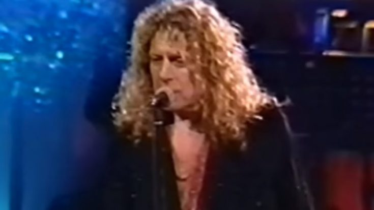 """Watch The 1995 """"Since I've Been Loving You"""" Performance Of Jimmy Page & Robert Plant 