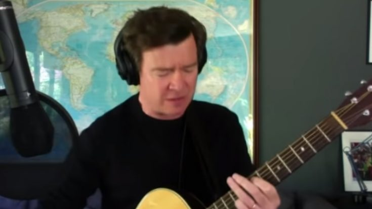 """Watch Rick Astley's Cover Of """"Everlong"""" By the Foo Fighters 