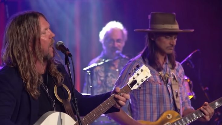 "Allman Betts Band Covers ""Midnight Rider"" In CBS This Morning 