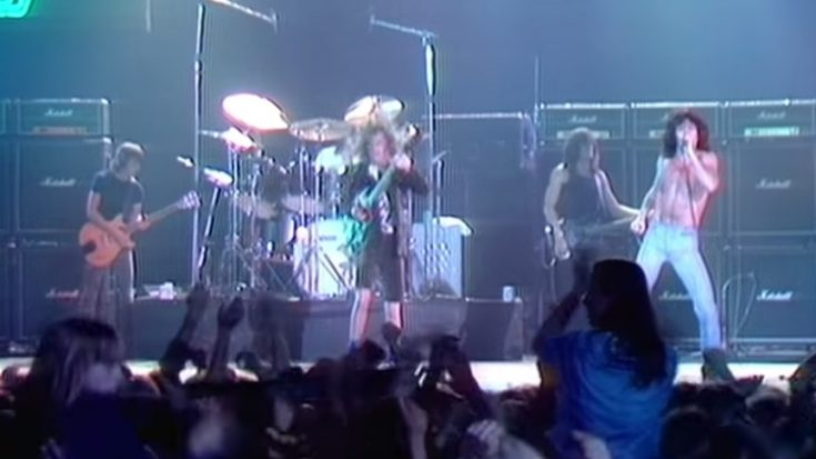 "Relive AC/DC's 1979 Countdown Performance Of ""Highway To Hell"" 