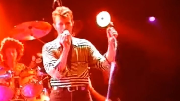 "David Bowie Performs ""Teenage Wildlife"" in 1995 – Watch 