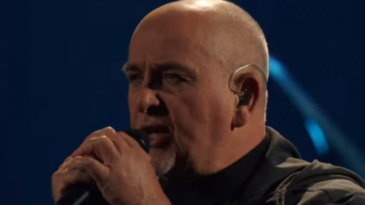 """Peter Gabriel Performs """"Digging in the Dirt"""" at the 2014 Rock & Roll Hall of Fame 