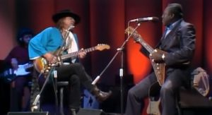 "Stevie Ray Vaughan And Albert King Jams ""Don't Lie To Me"""