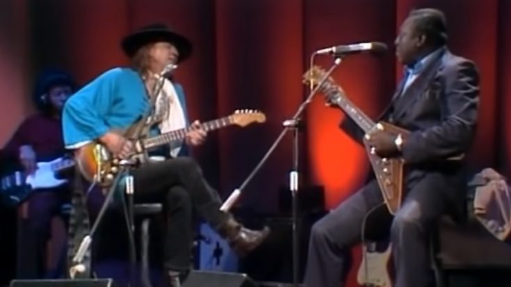 """Stevie Ray Vaughan And Albert King Jams """"Don't Lie To Me"""" 