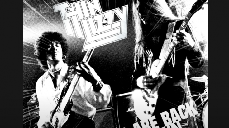 Thin Lizzy Streams Single Edit Of The Boys Are Back In Town I Love Classic Rock