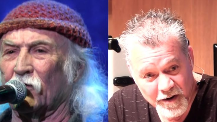 "David Crosby Admits His Comment About Van Halen Was ""Not Cool"" 
