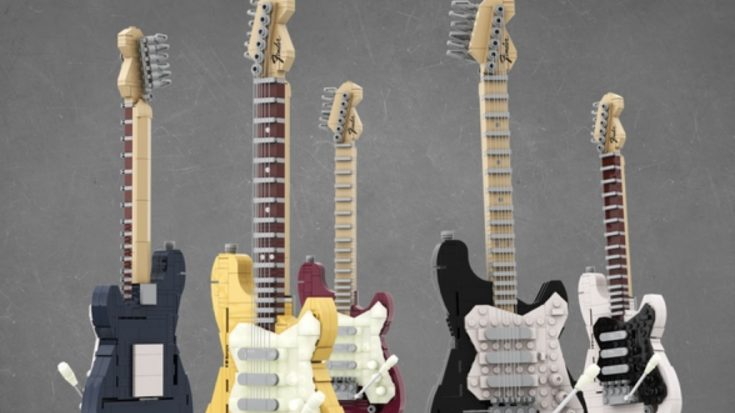 Lego Will Make A Fender Stratocaster Set Thanks To A Fan | I Love Classic Rock Videos