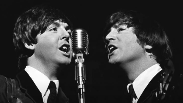 "Listen To The Isolated Vocals of John And Paul For ""If I Fell"" 