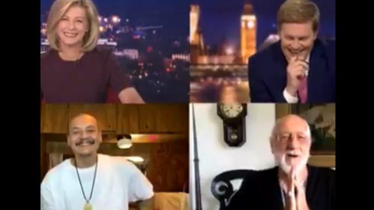 Mick Fleetwood Surprises Viral TikTok Star Nathan Apodaca | I Love Classic Rock Videos