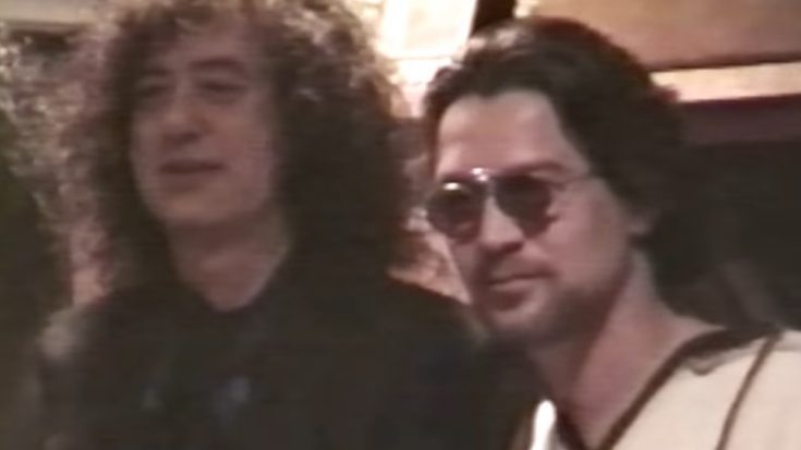 """Jimmy Page Honors Eddie Van Halen: """"He Was The Real Deal"""" 