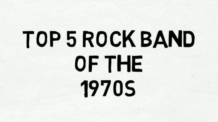 Rock Music Revival: The Top 5 Rock Bands of the '70s | I Love Classic Rock Videos