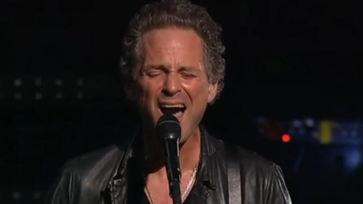 Lindsey Buckingham Returns For Concert After Surgery   I Love Classic Rock Videos