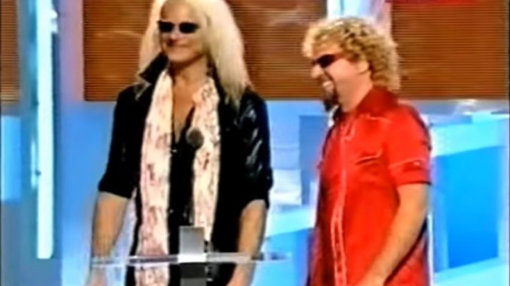 Sammy Hagar Wants To Buy David Lee Roth's Cartoon | I Love Classic Rock Videos