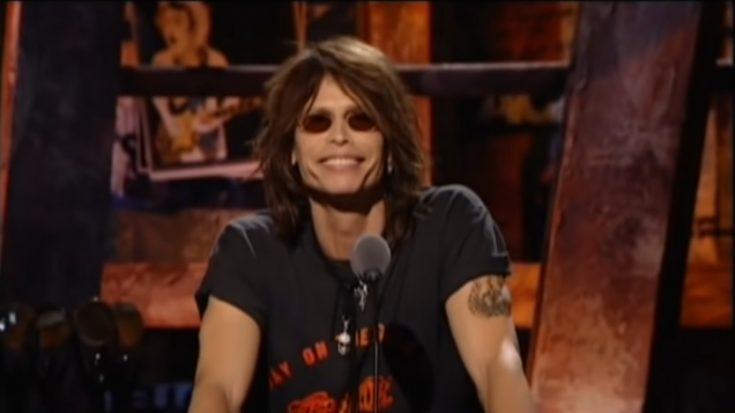 We Now Know The Reason Why AC/DC Asked Steven Tyler To Induct Them | I Love Classic Rock Videos