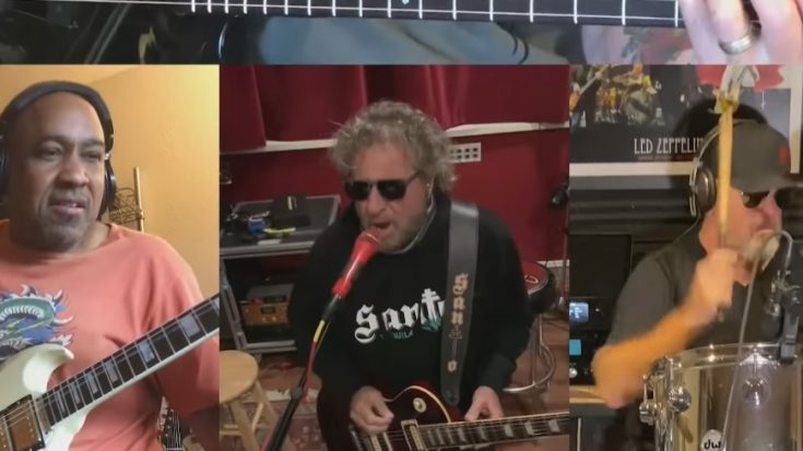 Sammy Hagar Shares Teaser For 'Lockdown 2020' | I Love Classic Rock Videos