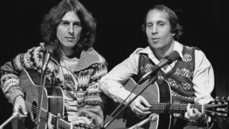 Watch George Harrison And Paul Simon Perform 'Here Comes The Sun' | I Love Classic Rock Videos