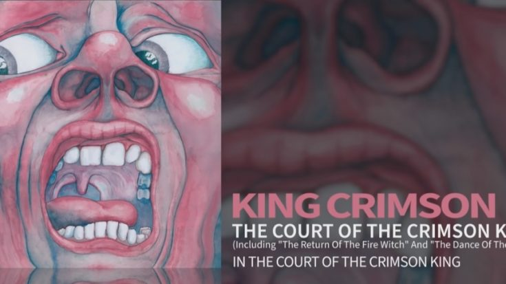 The Story of the Screaming Face By King Crimson | I Love Classic Rock Videos