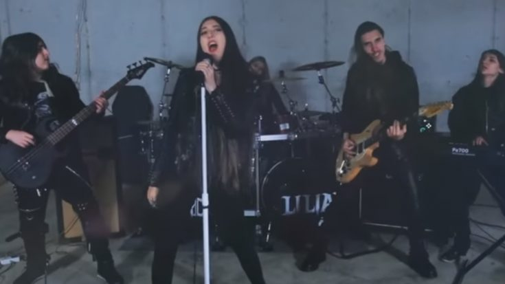 Watch Liliac's Explosive Cover Of 'I Hate Myself For Loving You' | I Love Classic Rock Videos
