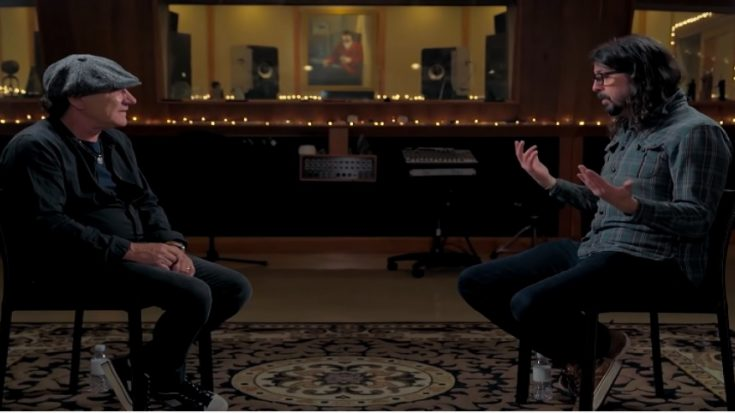 Brian Johnson Meets Dave Grohl | I Love Classic Rock Videos