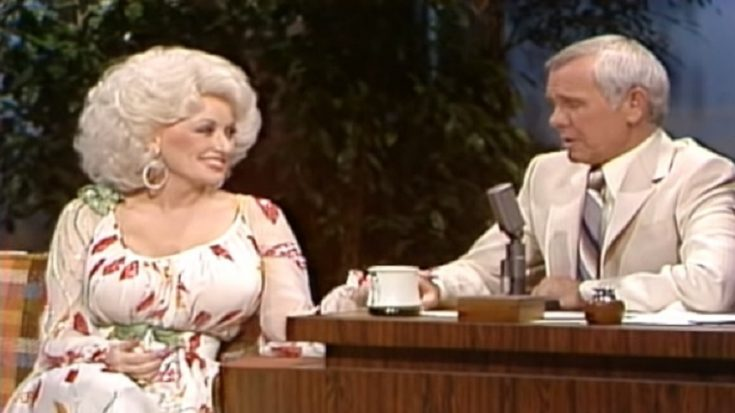 Relive Dolly Parton's Sweet Interview And Song For Johnny Carson   I Love Classic Rock Videos