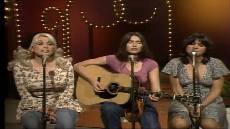 The First Trio Performance Of Linda Ronstadt, Dolly Parton, And Emmylou Harris | I Love Classic Rock Videos