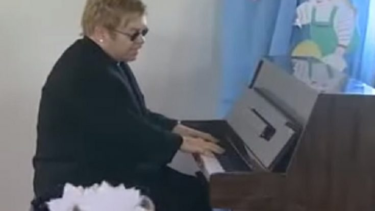 "Watch Elton John Perform ""Circle of Life"" For Orphans In Ukraine 