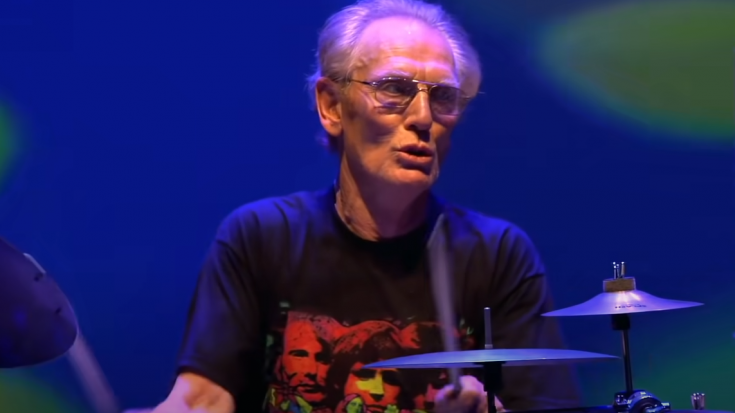 Ginger Baker Insane Drum Solo- His Timing Is Impeccable | I Love Classic Rock Videos