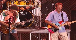 Relive The Time Carlos Santana & Eric Clapton Teamed Up For 'Jin Go Lo Ba'