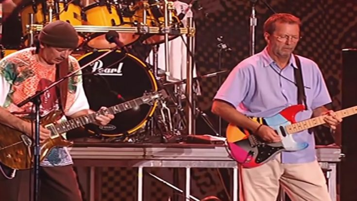 Relive The Time Carlos Santana & Eric Clapton Teamed Up For 'Jin Go Lo Ba' | I Love Classic Rock Videos