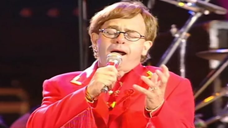 Elton John Puts A Tear Jerker Performance Of 'The Show Must Go On' | I Love Classic Rock Videos