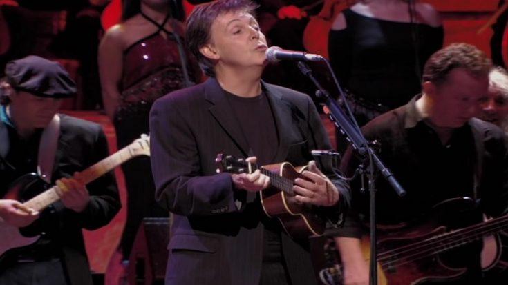 Paul McCartney Plays 'Something' Using Ukulele Gift by George Harrison   I Love Classic Rock Videos