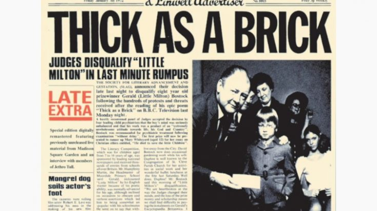 Why 'Thick As A Brick' Became A Success For Jethro Tull | I Love Classic Rock Videos