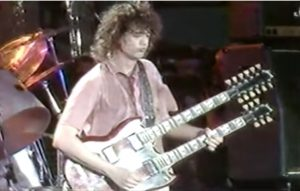 Even In His Off Day Jimmy Page Still Tore The Stage Down