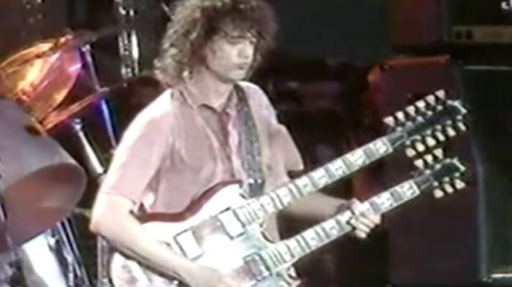 Even In His Off Day Jimmy Page Still Tore The Stage Down | I Love Classic Rock Videos