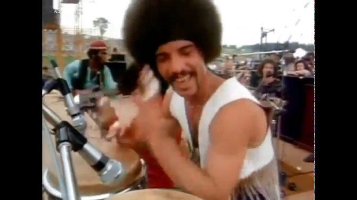 Let Santana Hypnotize You With 'Soul Sacrifice' 1969 Performance   I Love Classic Rock Videos
