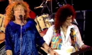 Watch Two Rock Gods Performing 'Crazy Little Thing Called Love'