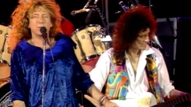 Watch Two Rock Gods Performing 'Crazy Little Thing Called Love'   I Love Classic Rock Videos