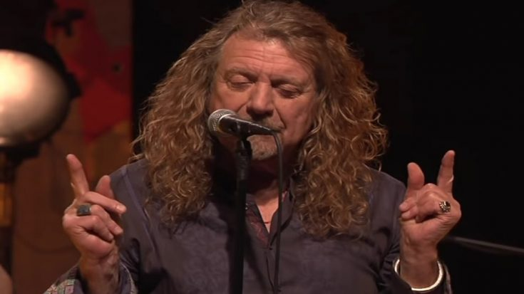 Robert Plant Proves His Rock Supremacy With Rearrangement Of 'Ramble On'   I Love Classic Rock Videos