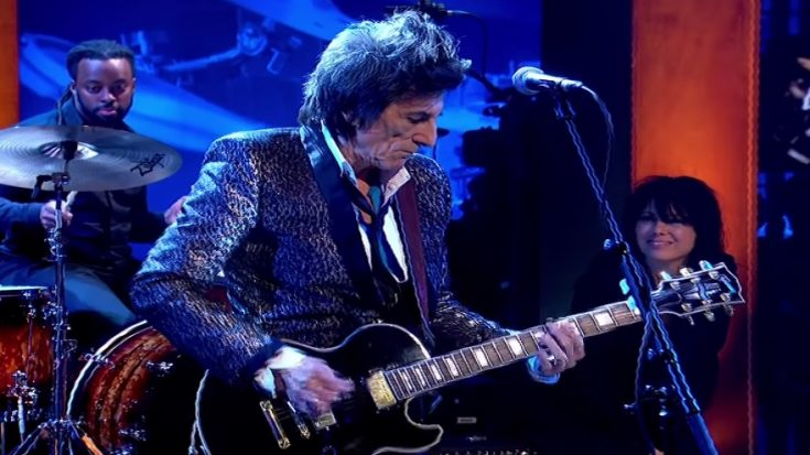 Watch Ronnie Wood Upfront Cover Of Johnny B. Goode | I Love Classic Rock Videos