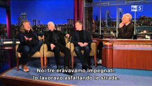 Watching A Third Of Led Zeppelin In David Letterman In 2021 Makes Us Happy
