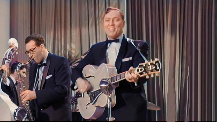 Watch A Remastered And Colorized Bill Haley And His Comets Performance In 1956   I Love Classic Rock Videos
