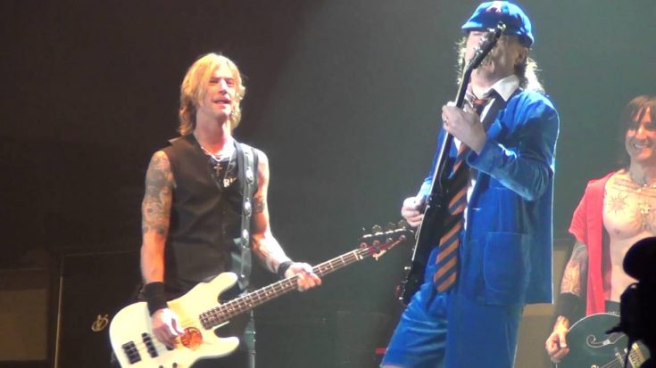 Watch Angus Young Rock Out With Guns N' Roses In Coachella | I Love Classic Rock Videos
