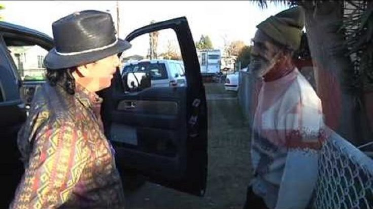 Watch Sweet Moment Carlos Santana Reunites with Homeless Ex-Bandmate in Oakland | I Love Classic Rock Videos