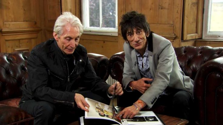 Ronnie Wood Shares Story Of His Final Visit To Charlie Watts | I Love Classic Rock Videos
